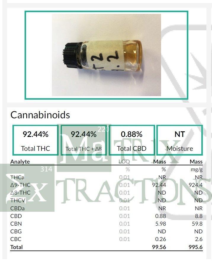 distillate 1ml syringe