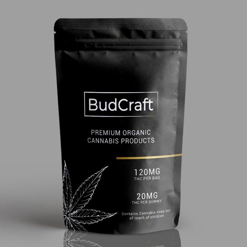 Bud Craft Vegan Gummies 120mg